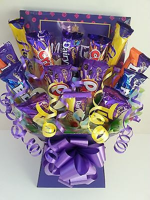 CADBURYS Chocolate Selection Bouquet Sweet Tree Explosion Hamper - Perfect Gift