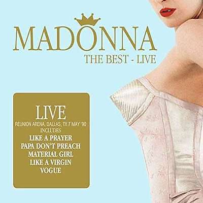 Madonna - The Best - Live NEW 2 x CD