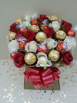 Lindor Lindt Ferrero Rocher Chocolate Bouquet Sweet Tree Explosion Perfect Gift