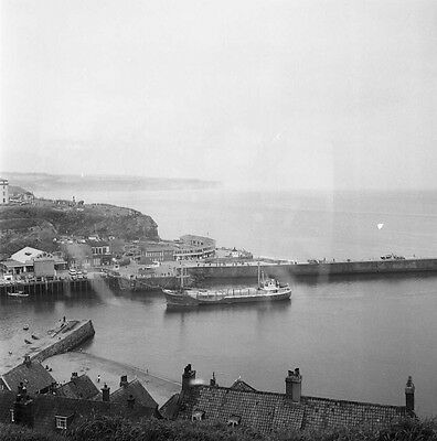 An Original 6X6 Cm Negative Of Ship Nordwind Whitby Harbour 1970
