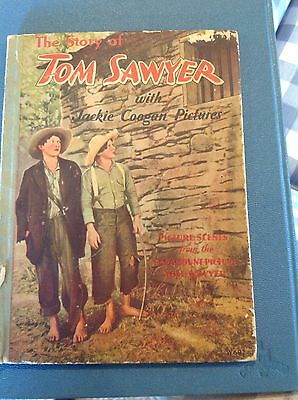 Tom Sawyer With Jackie Coogan Paramount Picture Book 1931 Loaded with Pictures