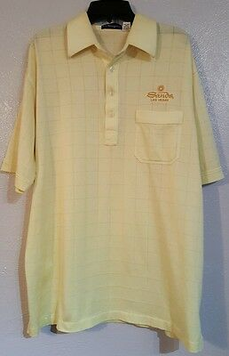 Vtg Sands Las Vegas Polo Shirt Golf L Hotel Casino Di Minzoni