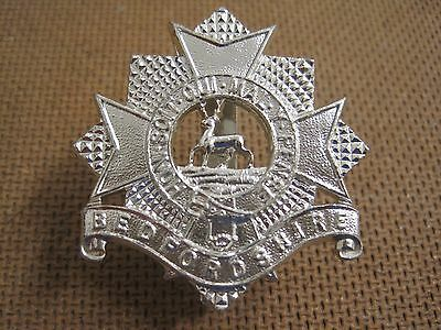 A/a Bedfordshire Regiment Cap Badge - Gaunt