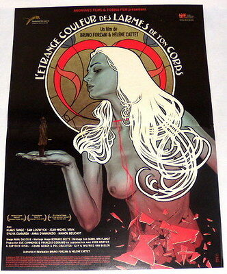 THE STRANGE COLOR OF YOUR BODY'S TEARS Forzani Cattet SMALL French POSTER