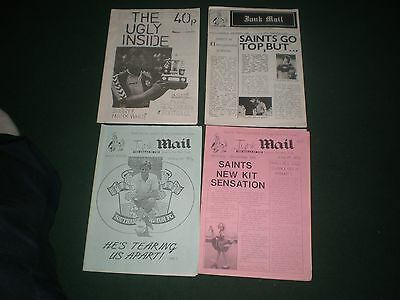 Southampton Fc 4 Fanzines From Late 80's