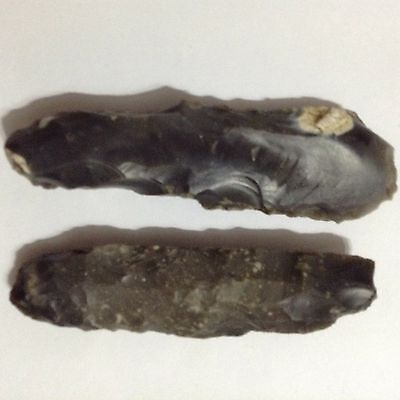 2 Neolithic Flint Fabricators From The Same Uk Field.