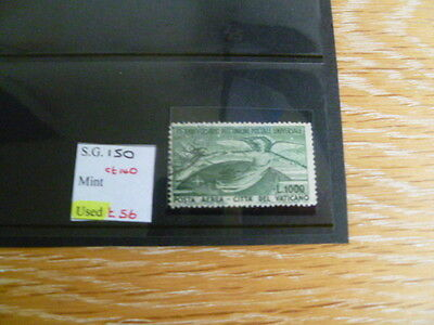 Vatican SG 150 used -catalogue £140 - Ref RV26
