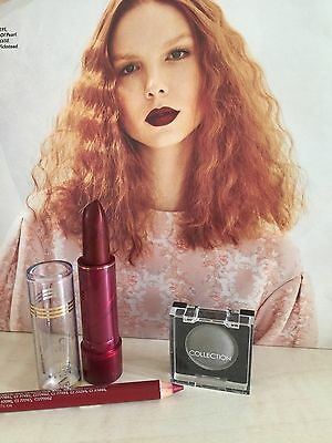 3 Item Make Up Set  Lipstick,eyeshadow & Pencil All New In Pack