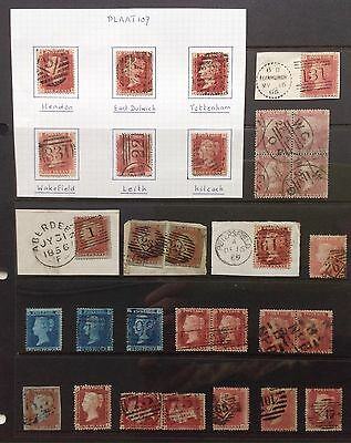 GB Queen Victoria Line Engraved General Selection & Multiples