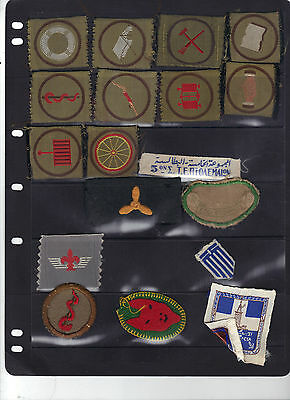 Group Of Proficiency And Other Greek Scout Badges