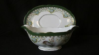 Imperial Crown China Austria Gravy/Sauce Boat with Underplate