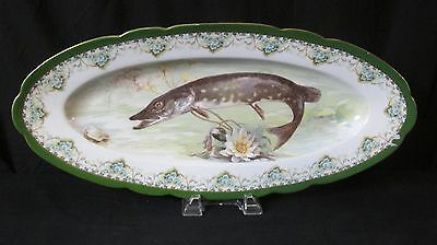 Imperial Crown China Austria Fish Platter