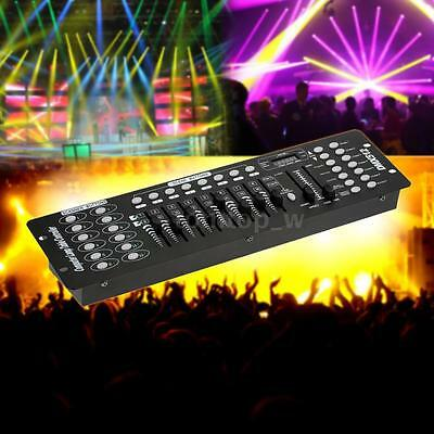192 DMX Channels Stage Light Controller School Concerts Party DJ Disco KTV Club