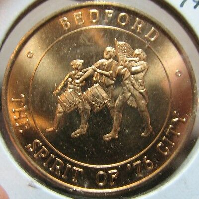 1976 Bedford, OH The Spirit of '76 City Bicentennial Token - Ohio