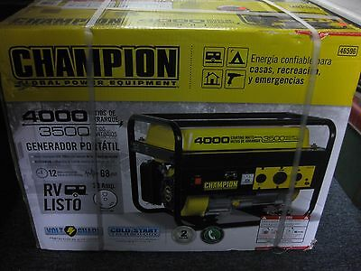 Champion Power Equipment Model 46596,  4,000 Watt Portable Gas Generator