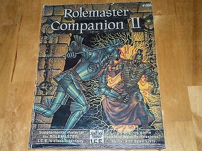Rolemaster Companion II by ICE 1987 OOP Fantasy RPG Supplement