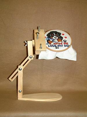 Embroidery, Cross stitch, Lap frame/stand.......