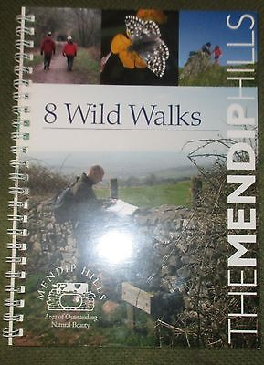 Eight Wild Walks: A Fully Illustrated Guide to  Wild Walks in the Mendip Hills