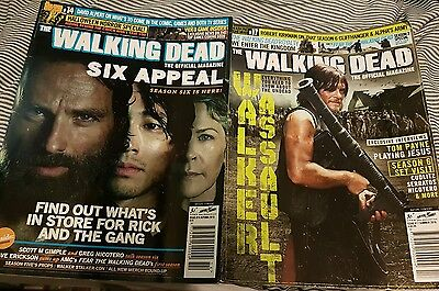 The Walking Dead Official Magazine Issue 14 & 17