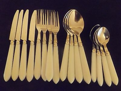 New 16 Piece Stainless Steel Cutlery Set