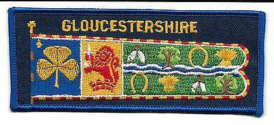 Gloucestershire Cloth Guide Standard Badge