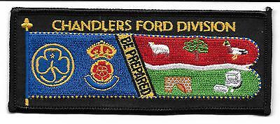 Girl Guiding  Chandlers Ford Division Standard Badge