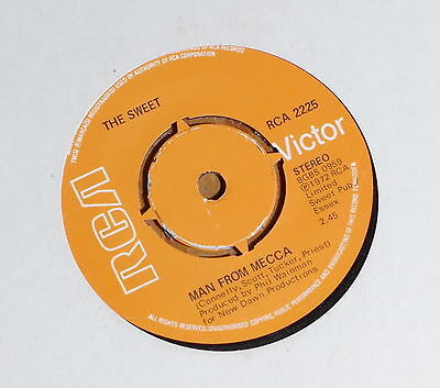 """'Man From Mecca' THE SWEET 7"""" 7 inch vinyl single RCA 2225"""