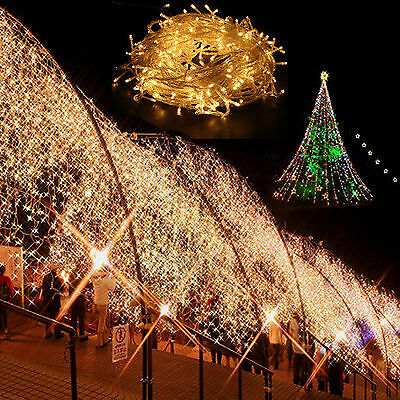 New 300 Led 30M Warm White String Fairy Lights for Christmas Party Wedding Decor