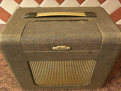 Vintage Bush BAC31 Battery/Mains Valve Radio,Portable,1950s,Not Working,As Found
