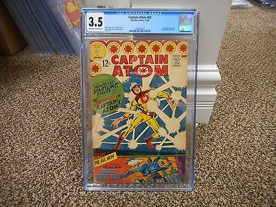 Captain Atom 83 cgc 3.5 1st appearance of Blue Beetle Ted Kord Charlton 1966 TV