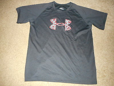 Under Armour Youth Short Sleeve T Shirt Size Ylg - Free Shipping
