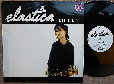 "Elastica Line Up 1994 12"" Single 4 Tracks Excellent Condition"