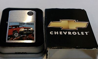 Zippo Lighter New with Tags 2002 Chevy Trucks