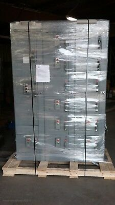6 Six Sections ALLEN BRADLEY motor control center 800A Fused main