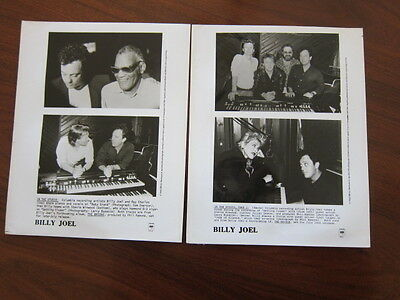 BILLY JOEL  2 8x10 photos