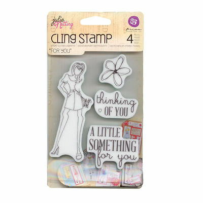 Julie Nutting  Doll Cling  Stamp - For You