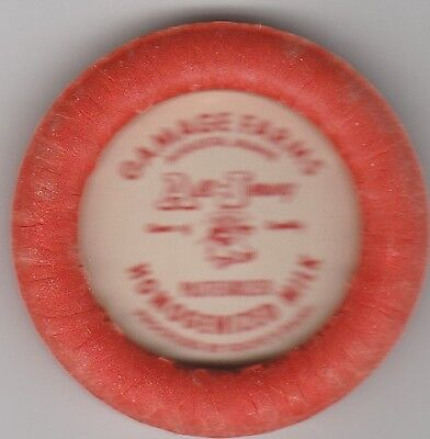 Lot Of 25 Milk Bottle Caps. Gamage Farms. Augusta, Me. Dairy