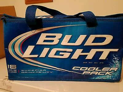 2009 Bud Light 18 Can Insulated Cooler Pack