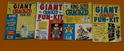 Cracked & Crazy Magazine~Choose Any 6 Issues You Want From Lot (1980-1994)~ Mad!