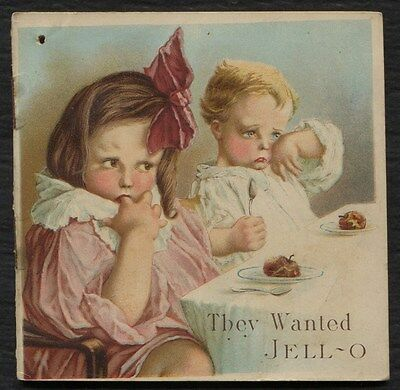 JELL-O Product & Recipe booklet