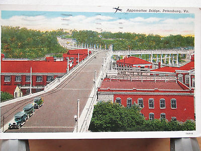 Vintage Postcard Appomatox Bridge, Petersburg, Virginia
