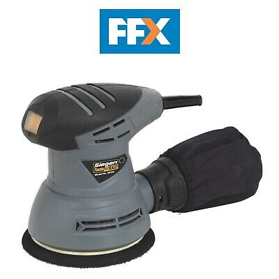Sealey S0125 Dual Action Palm Sander Ø125mm 240W/230V