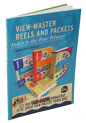 View-Master Reels and Packets - INDEX to Four Volumes - Harry zur Kleinsmiede