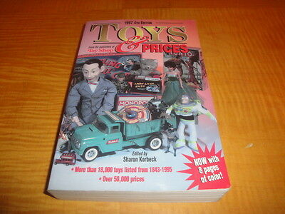 Toys & Price Guide 1997 4Th Edition Buy It Now For $3.99
