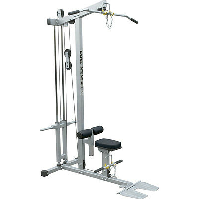 Station Latissimus One Size Silver Black Stations de musculation