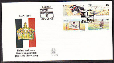 South West Africa  1984 - German Possession  First Day Cover - Unaddressed
