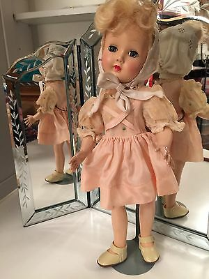 """Vintage Effanbee Tintair Doll 14""""  Outfit Clothes Vintage"""