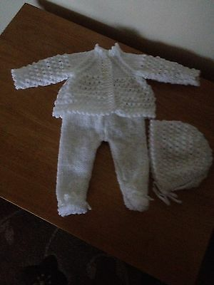 """Hand Knitted Dolls Clothes To Fit Doll 18"""""""