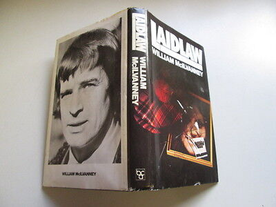 Acceptable - Laidlaw - William McIlvanney  Cracked hinge. Foxing/tanning to edge