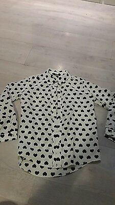 River island girls blouse age 8